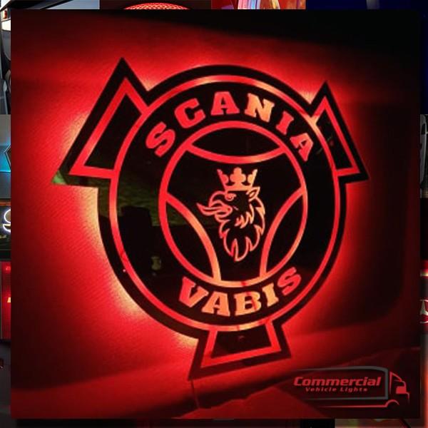 SCANIA truck MIRROR 50x50cm
