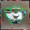 SCANIA V8 MIRROR / LIGHT BOARD FOR ALL TRUCKS 55x45cm 1