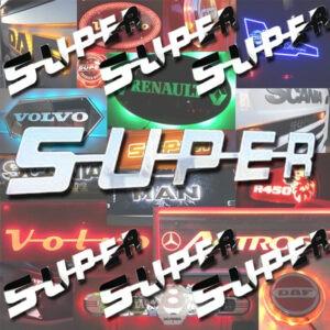 Scania super badge
