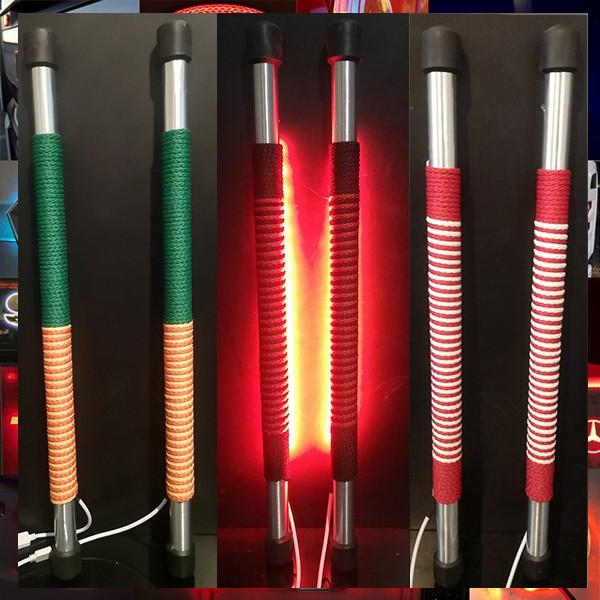 led LIT SPANISH SWORDS
