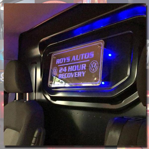 Custom LED Van Interior Mirror