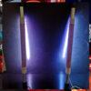 LED LIT SPANISH SWORDS / TRUCK WINDOWS POLES x 2 3