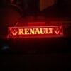 500x100 mm Renault Window Sign