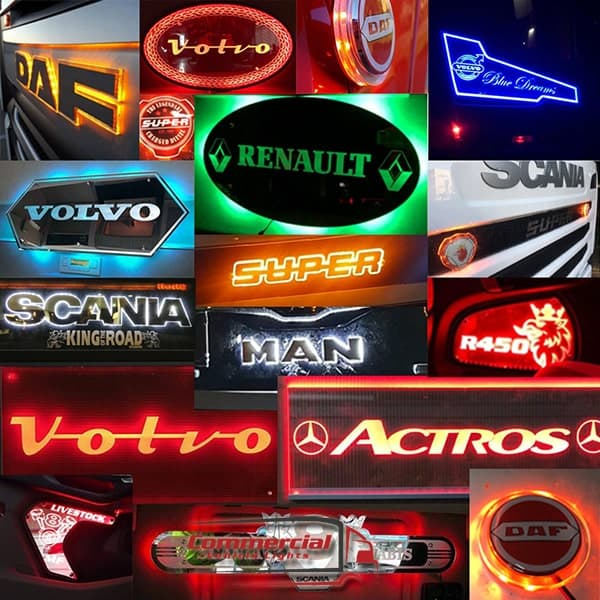 Truck Light Boards and LED Mirrors