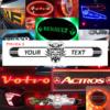 VOLVO VIKING TRUCK MIRROR / LIGHTBOARD 1000x250mm 1