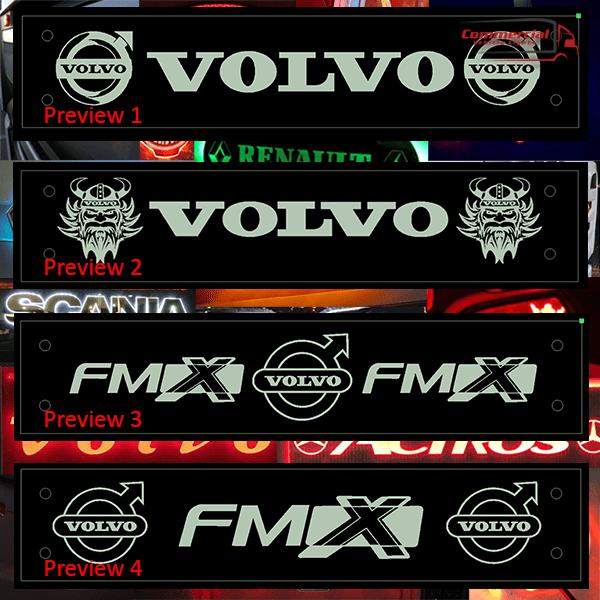 Volvo Truck Window Signs