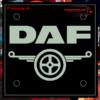 DAF LED WINDSCREEN SIGNS / PLEXIS 150x150mm x 2 3