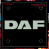 DAF LED WINDSCREEN SIGNS / PLEXIS 150x150mm x 2 4