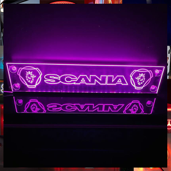 Scania Window Sign