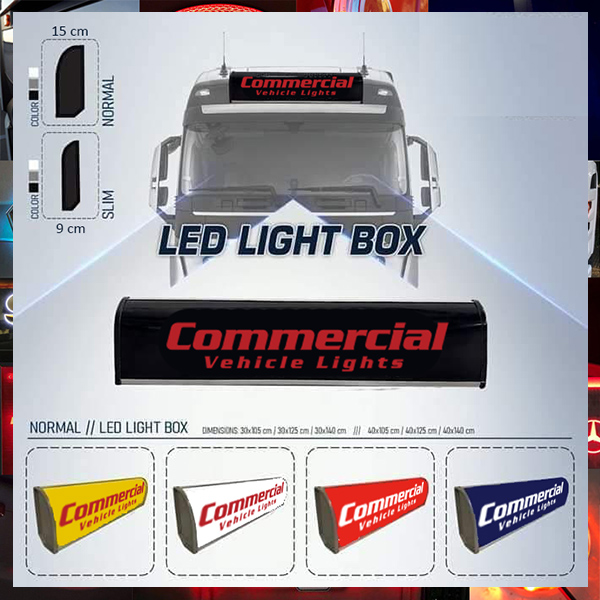 TRUCK LED TOP LIGHT BOX