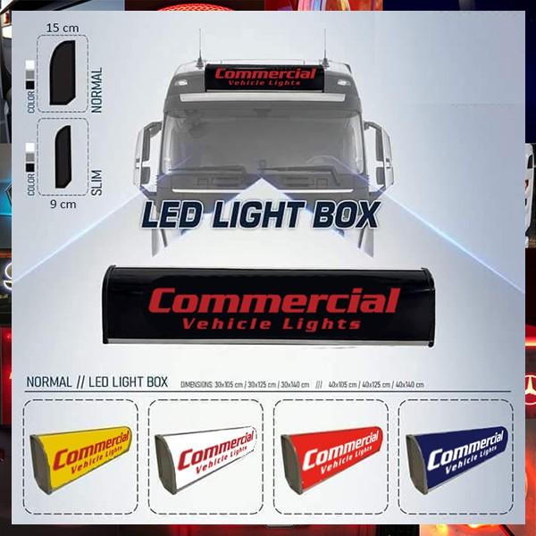 TRUCK LED TOP LIGHT BOX