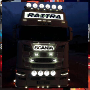TRUCK LED NAMEBOARD, HEADBOARD, FRONT SIGN