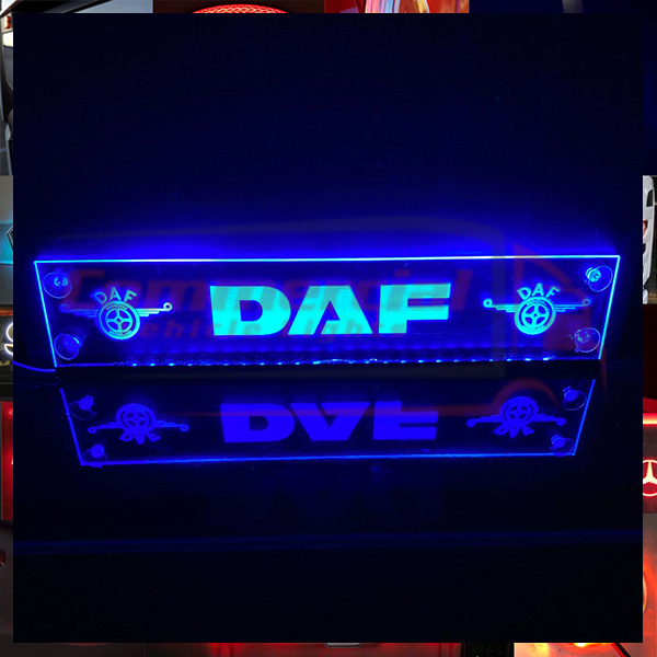 DAF LED WINDSCREEN SIGN