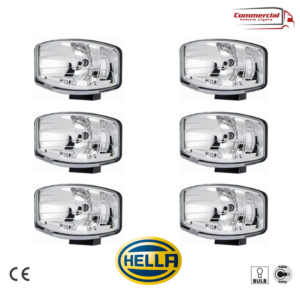 HELLA Jumbo 320 FF Spot Light / Position Lights Halogen x 6