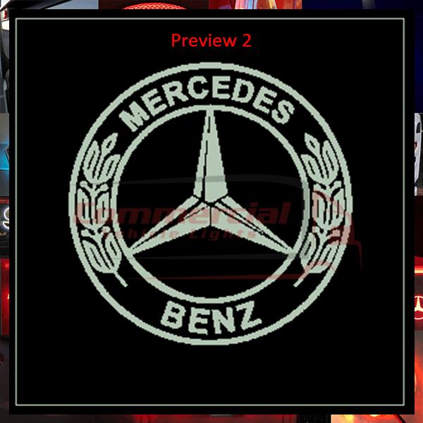 MERCEDES BENZ TRUCK LED MIRROR
