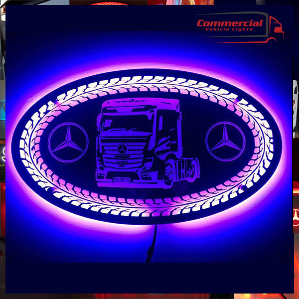 MERCEDES TRUCK LED MIRROR