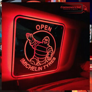 MICHELIN MAN LED MIRROR