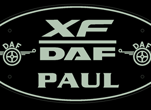DAF XF Truck Mirror