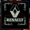 RENAULT LED WINDSCREEN SIGNS 150x150mm x 2 2