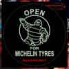 MICHELIN MAN LED MIRROR / LIGHT BOARD 2