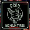 MICHELIN MAN LED MIRROR