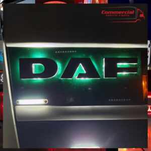 DAF BACK-LIT LED NAME BADGE