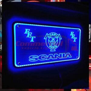SCANIA R SERIES INFILL PANEL MIRROR / LIGHTBOARD 70X35CM