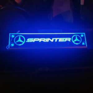 MERCEDES SPRINTER WINDOW SIGN