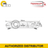 LOW PROFILE LED LIGHTBAR R65 BOLT MOUNT – 760 MM 3