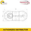 LOW PROFILE LED LIGHTBAR R65 BOLT MOUNT – 760 MM 2