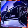 COWBOYS DONT CARE BULKHEAD MIRROR 1000x250mm 1
