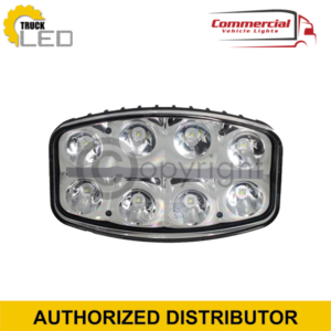 LED SPOT LIGHT WITH DAYTIME RUNNING LIGHT (245MM)