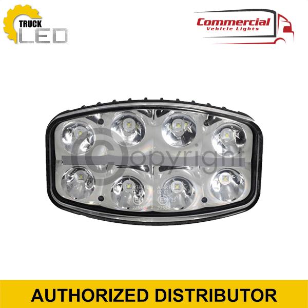 LED SPOT LIGHT WITH DAYTIME RUNNING LIGHT (245MM)