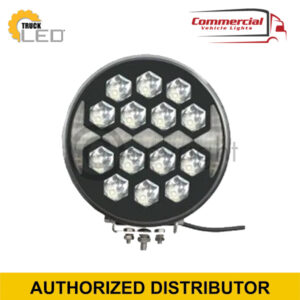 ROUND LED SPOT LIGHT WITH DAYTIME RUNNING LIGHT (220MM)