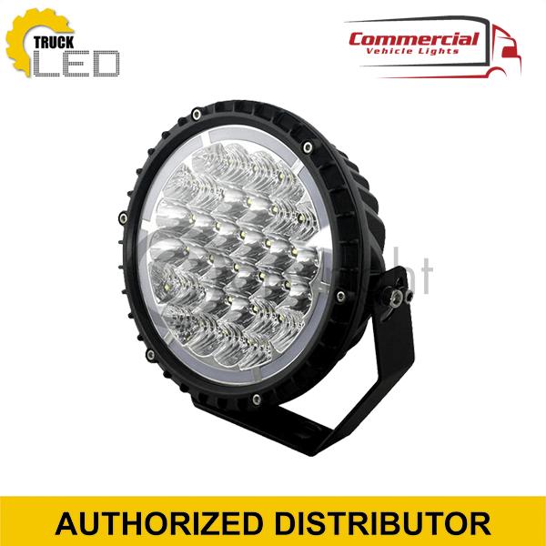 ROUND LED SPOT LIGHT WITH DAYTIME RUNNING LIGHT (245MM)