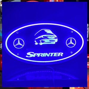 MERCEDES SPRINTER PLEXI GLASS LIGHT BOARD