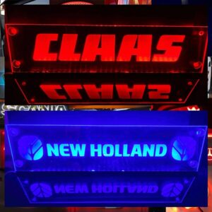 TRACTOR WINDOW LED SIGNS 600x150 mm