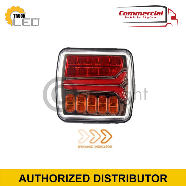 3 FUNCTION SQUARE TRAILER LIGHTS