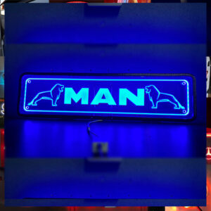 MAN Plexi Sign 70x18 cm