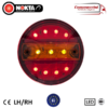 24v 11 LED MINI HAMBURGER 3 FUNCTION REAR COMBO LIGHTS