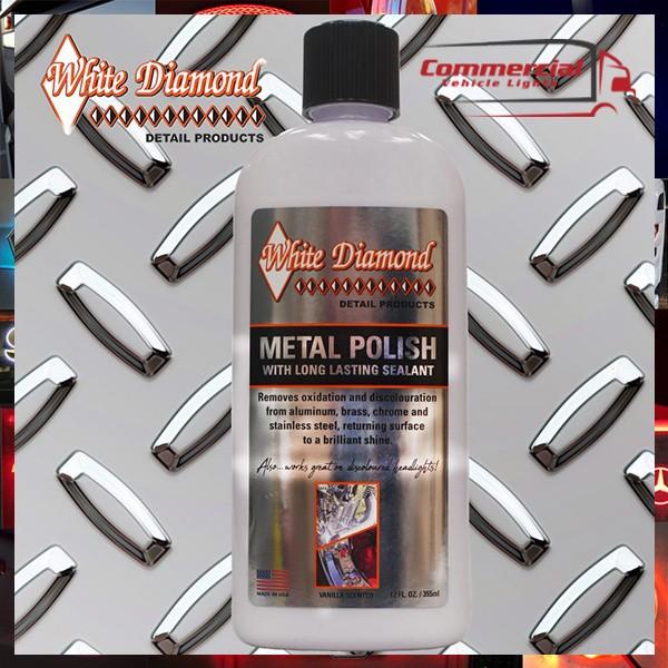 White Diamond Metal Polish 355 ml