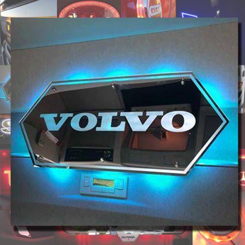 Volvo 70x18 mirror