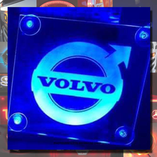 Volvo LED Window sign 15x15 cm