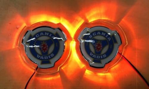 Scania LED Grille Emblems