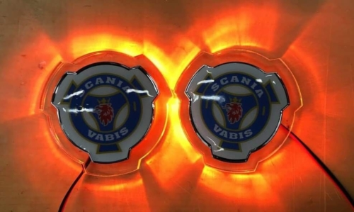 Scania LED Grille Emblems