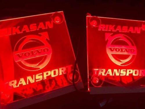 150x150mm LED Truck window signs