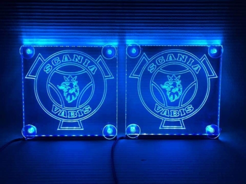 150x150mm LED Truck window signs