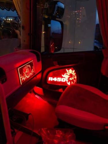Scania Truck LED Interior Door Panels