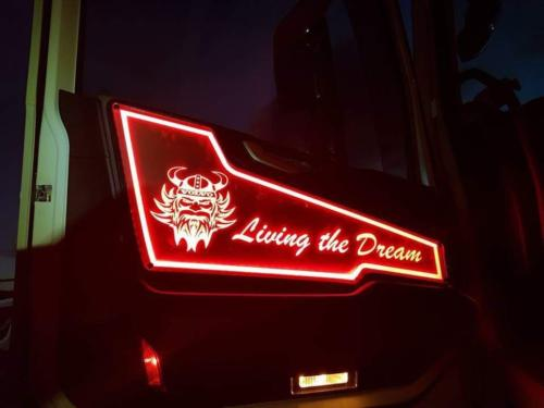 Volvo Truck LED Interior Door Panels