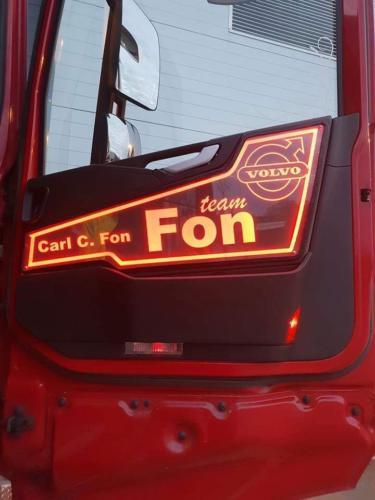 Volvo Truck LED Interior Door Panels